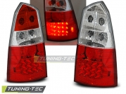 Задние фонари Ford Focus 1 red white led