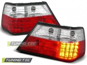 Задние фонари Mercedes E W124 red white led