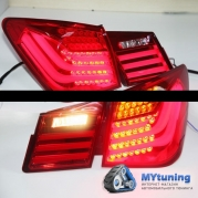 Задние фонари Chevrolet Cruze BMW style led red white