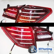 Задние фонари Subaru Outback B14 red white led