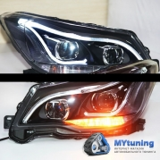 Передние фары Subaru Forester SJ daylight TLZ type