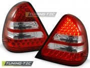 Задние фонари Mercedes C W202 red white led