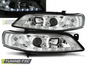 Передние фары Opel Vectra B daylight chrome