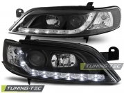 Передние фары Opel Vectra B daylight black