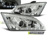 Передние фары Ford Focus 2 daylight chrome