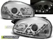 Передние фары Opel Corsa B daylight chrome