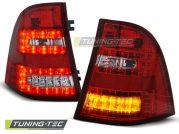 Задние фонари Mercedes ML W163 red white led