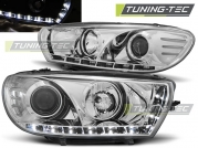 Передние фары VW Scirocco 3 daylight chrome