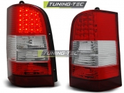 Задние фонари red white led для Mercedes Vito W638