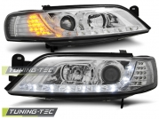 Передние фары Opel Vectra B daylight chrome led indicator