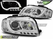Передние фары Audi A3 8P led tube lights chrome