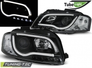 Передние фары Audi A3 8P led tube lights black