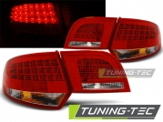 Задние фонари Audi A3 8P sportback red white led