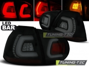 Задние фонари VW Golf 5 black smoke led bar