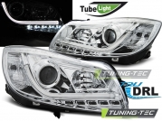 Передние фары Opel Insignia chrome tube lights