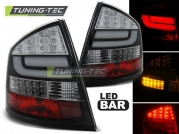 Задние фонари Skoda Octavia 2 black led bar