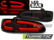 Задние фонари Seat Ibiza 3 smoke red led bar
