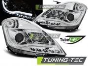 Передние фары Suzuki Swift 4 tube light chrome