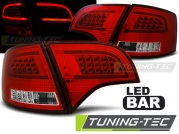 Задние фонар Audi A4 B7 avant red white led bar