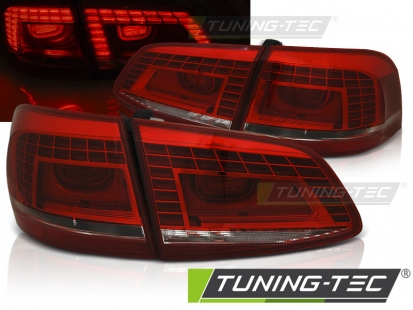 Задние фонари RED WHITE LED для VW Passat B7 avant