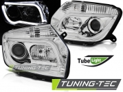 Передние фары Dacia Duster tube light chrome