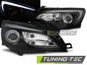 Передние фары Opel Astra J tube light black