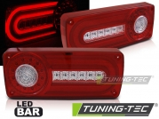 Задние фонари RED WHITE LED BAR для Mercedes G W463