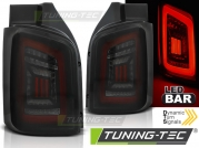 Задняя оптика SMOKE BLACK RED LED для VW T5 Transporter