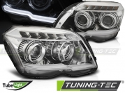 Фары передние TUBE LIGHT CHROME для Mercedes GLK X204