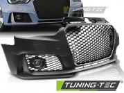 Передний бампер RS3 STYLE CHROME BLACK для Audi A3 8V