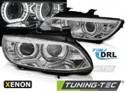 Передние фары ANGEL EYES LED CHROME HID для BMW 3 E92 E93