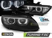 Передние фары ANGEL EYES LED BLACK HID для BMW 3 E92 E93