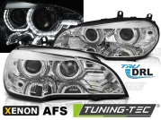 Передние фары AE DRL LED CHROME AFS HID для BMW X5 E70