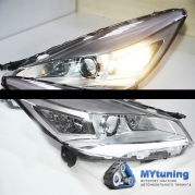Передние фары Ford Kuga PW style chrome