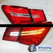 Задние фонари Chevrolet Cruze led red white