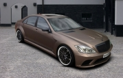 Обвес BLACK SERIES Mercedes W221