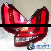 Задние фонар Ford Fiesta 7 led red white