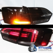 Задние фонари led smoke black для VW Jetta VI