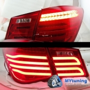 Задние фонари Chevrolet Cruze Mercedes style led red white