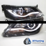 Передние фары VW Tiguan angele eyes YZ type