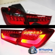 Задние фонари Mitsubishi Outlander / ASX led red smoke YZ