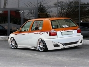 Задний бампер REACTOR VW Golf 3